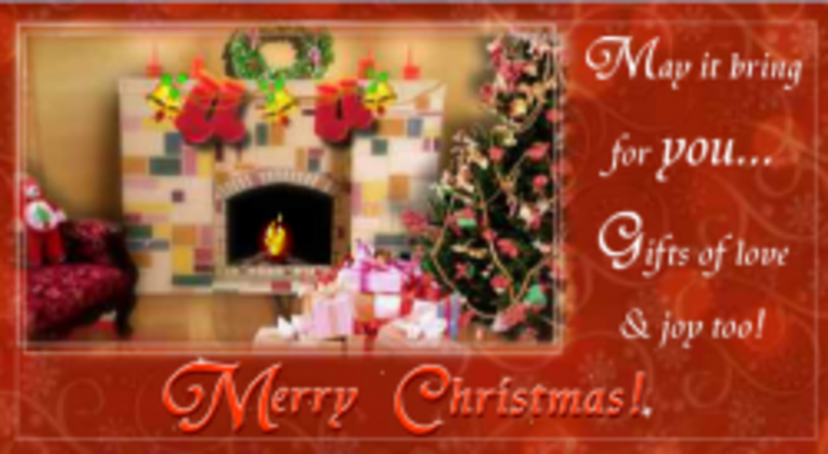 free animated christmas card from from 123greetings