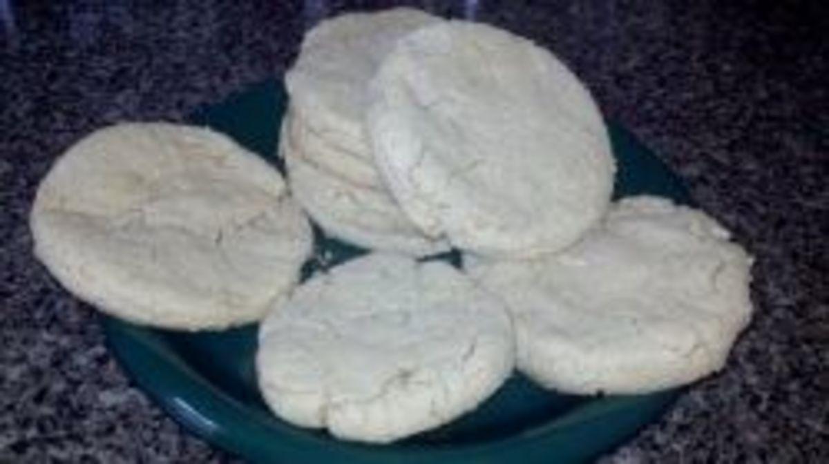Coconut Flour & Amaranth Flour Biscuits (Vegan, Gluten-Free)