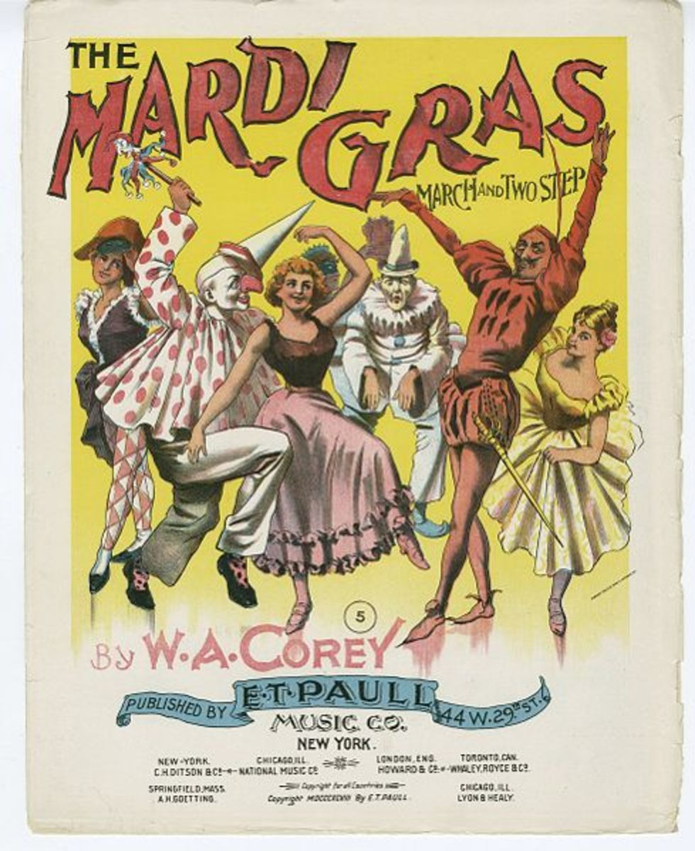 Twelfth Night begins the Mardi Gras Season that lasts until Fat Tuesday.