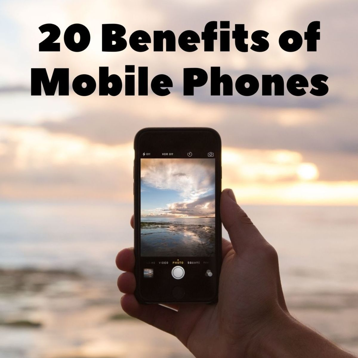 Mobile phones (also known as cell phones) have radically altered the way that we work, socialize, organize, and play. Although there are definitely some negatives, there have also been many benefits. Read on for the main advantages of mobile phones.