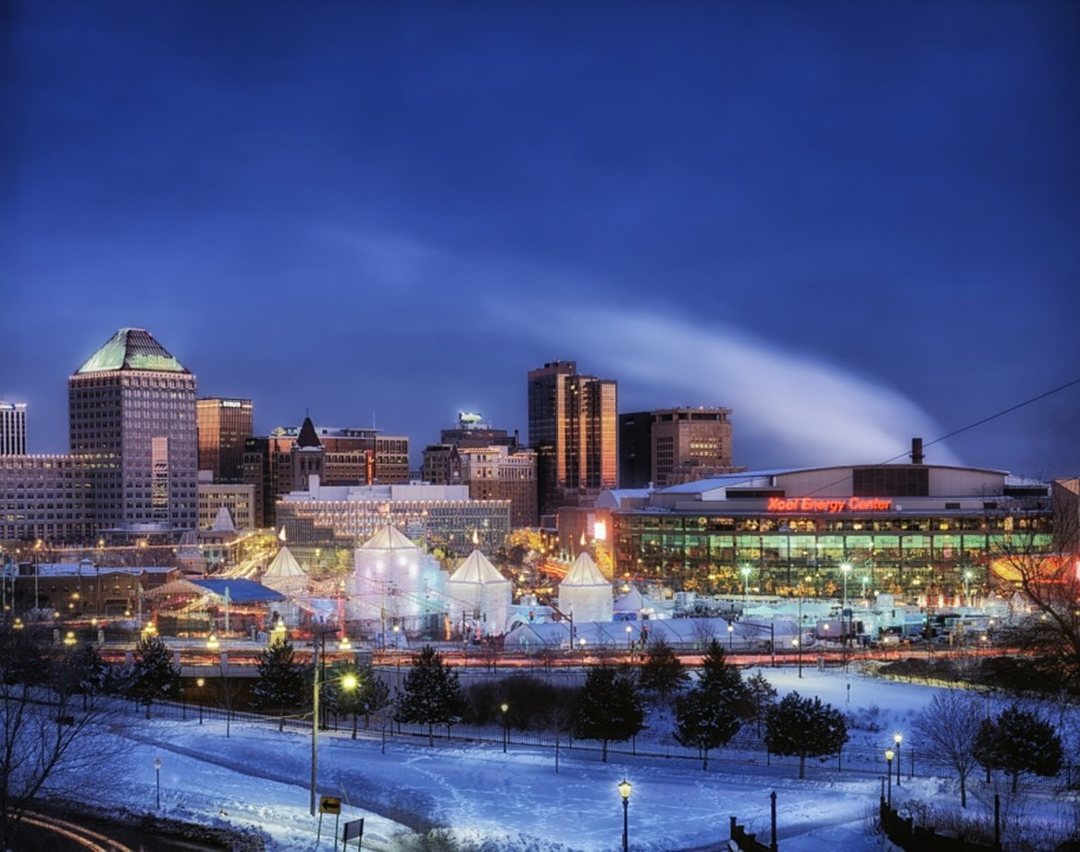 St. Paul MN is home to the Number One Community College in the USA.