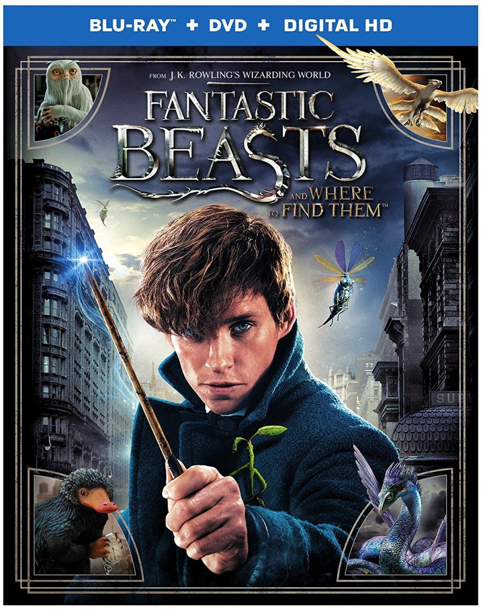 Harry Potter Spinoff Series Fantastic Beasts and Where to Find Them (2016)