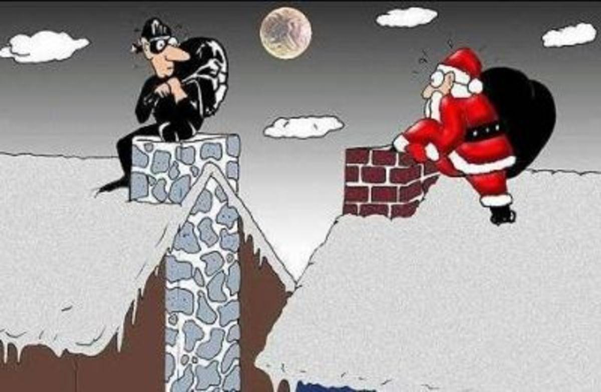 27 - Christmas Burglar