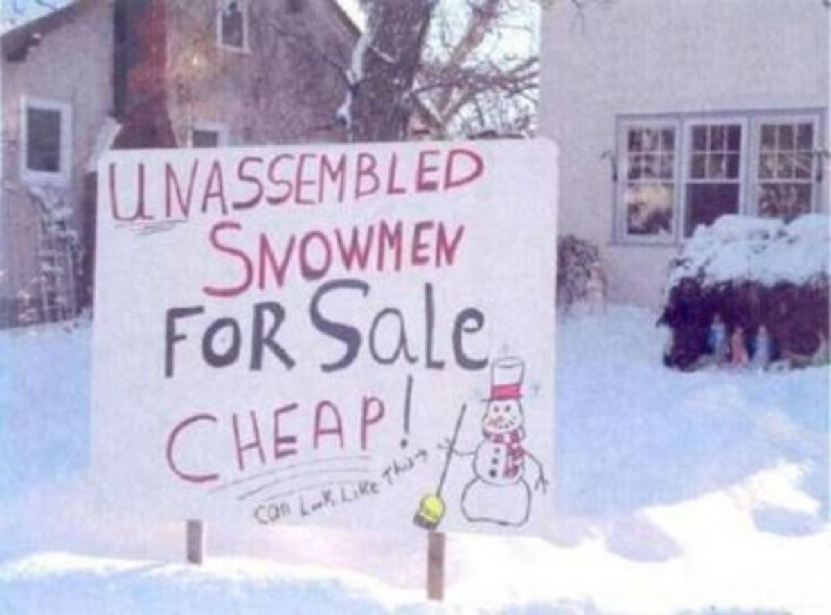 04 - Unassembled Snowmen