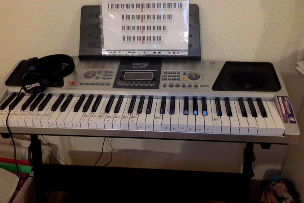 Piano Keyboard Rockjam- Product Review