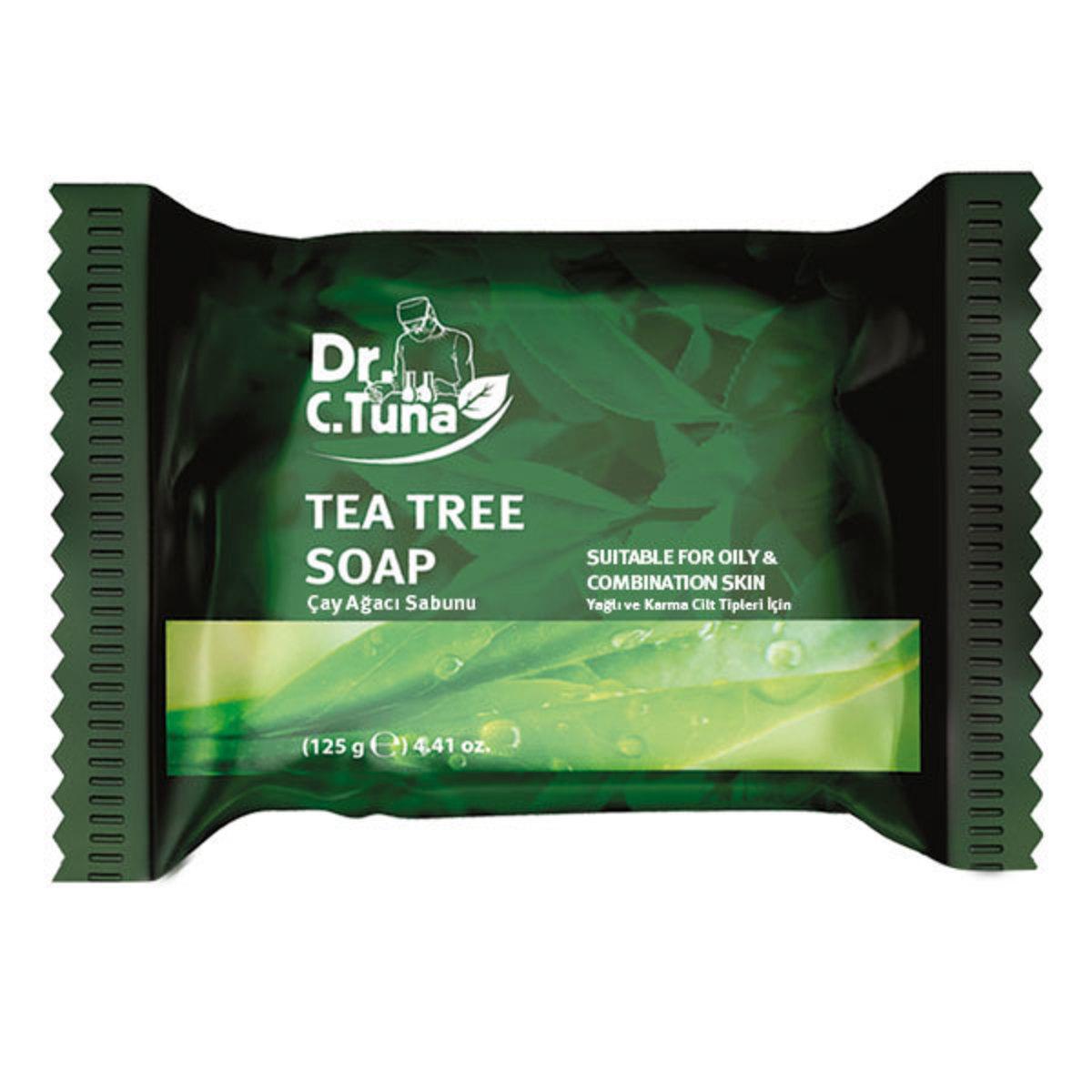 Soap with tea tree oil in it.