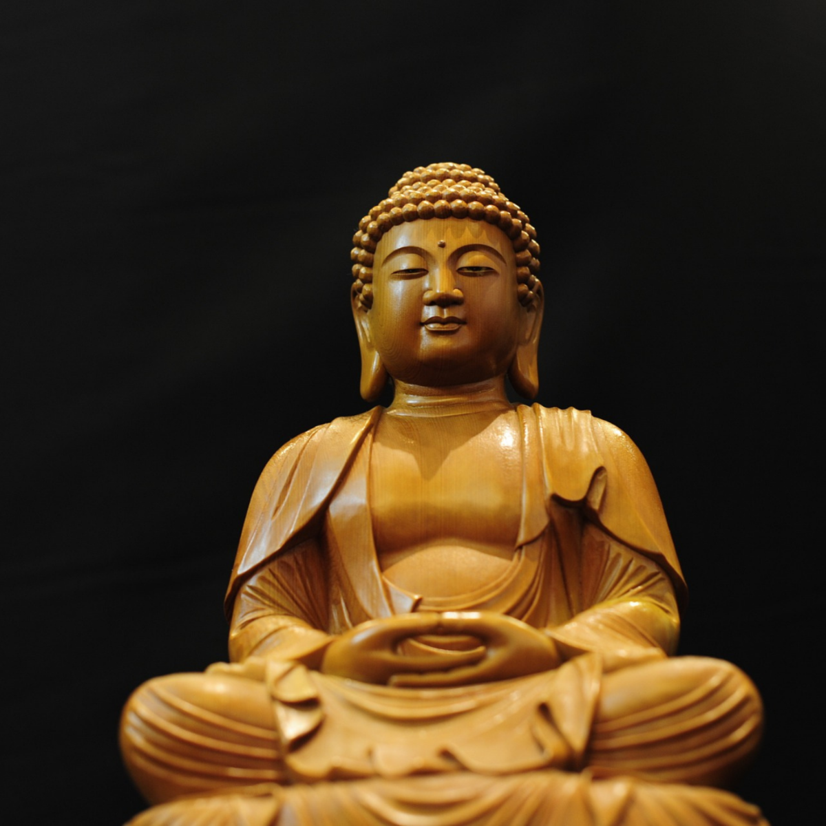 How to sit while practicing Zen meditation. Though you can sit on a chair, the basic sitting and gazing style remains the same.