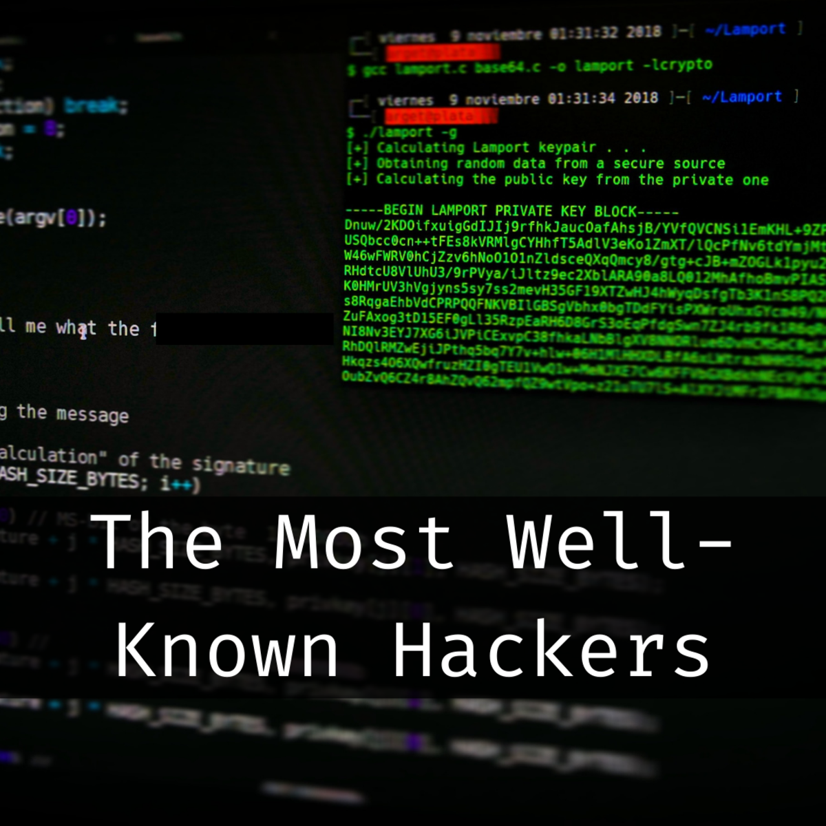 Learn about famous hacking collectives from around the world.