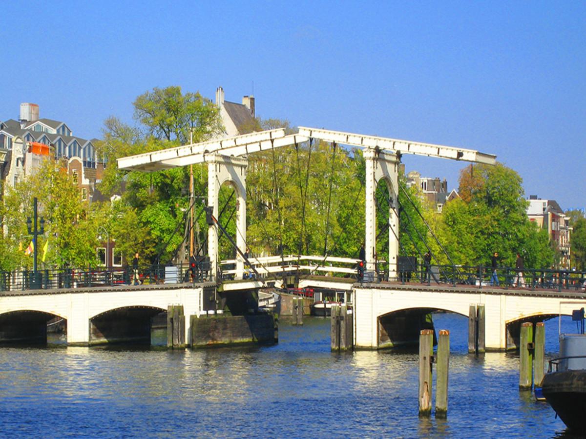 De Magere Brug / Skinny Bridge in Amsterdam