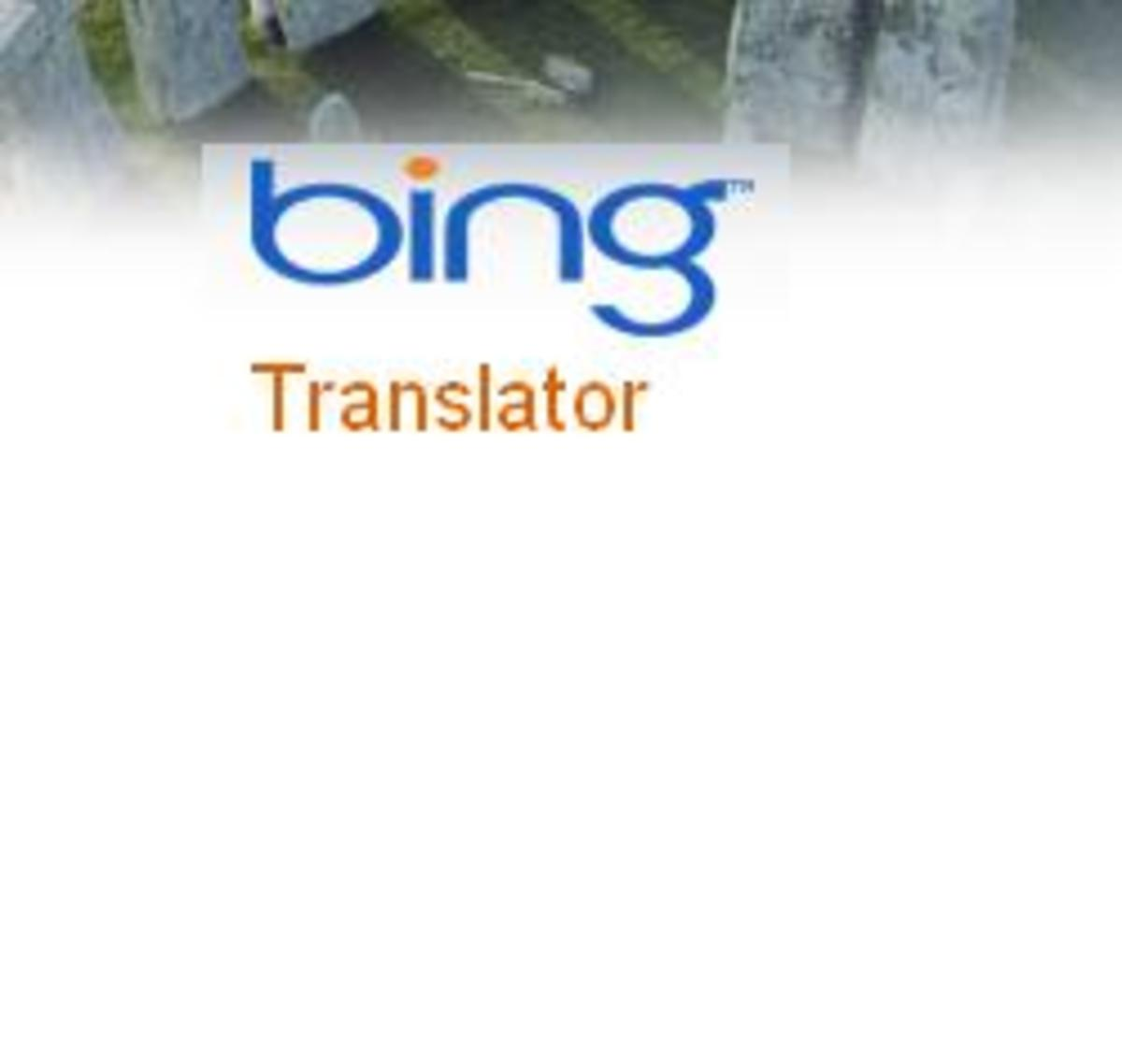 Bing Translator - Microsoft's Online Language Translation Service