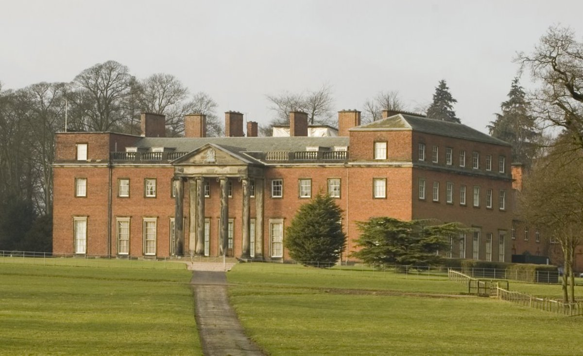 Chillington Hall, Staffordshire. Home of the Giffard family for 800 years.