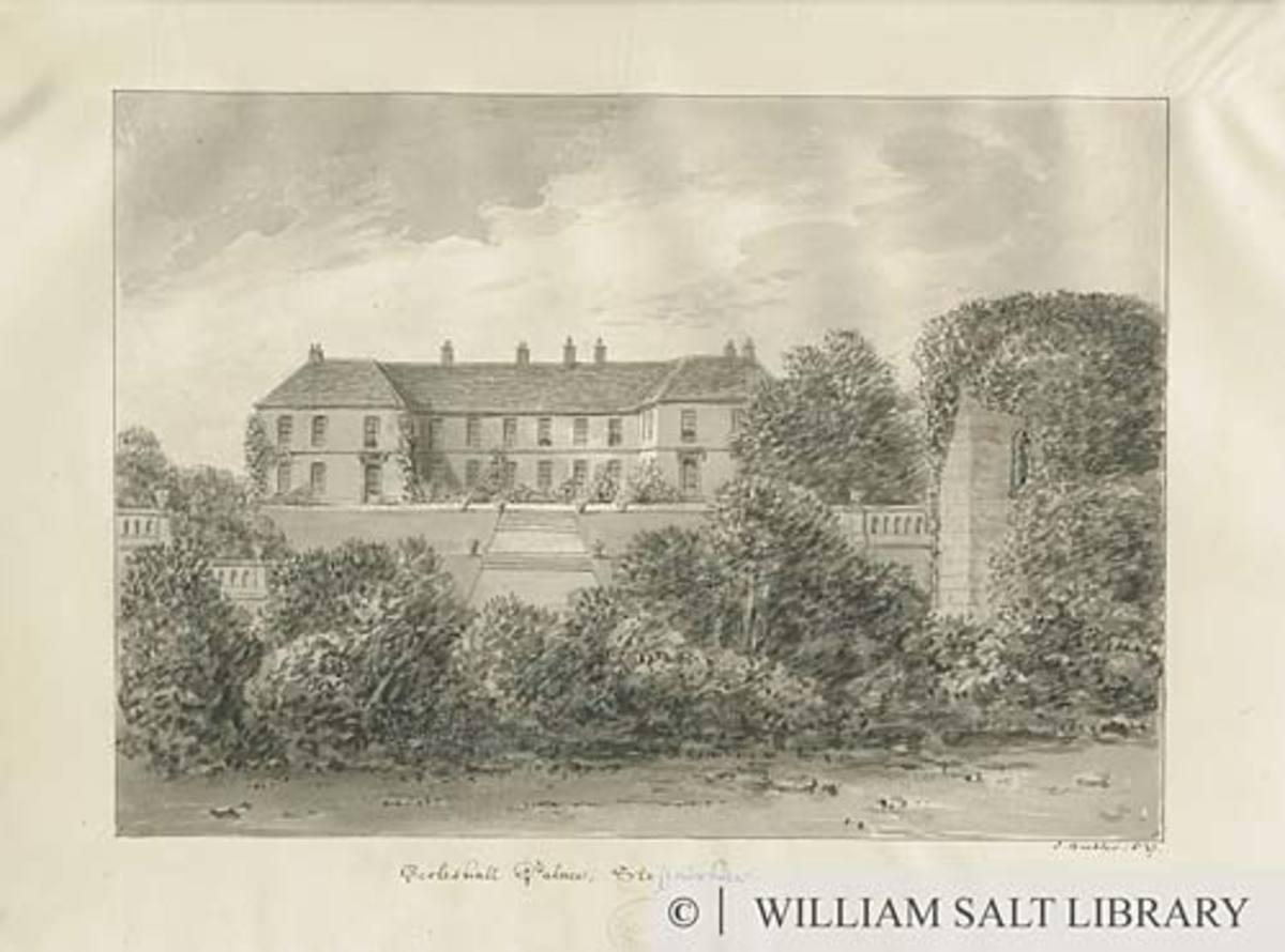 Eccleshall Castle, Staffordshire