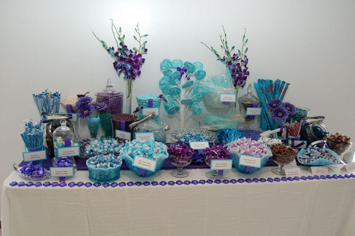 Winter themed buffet
