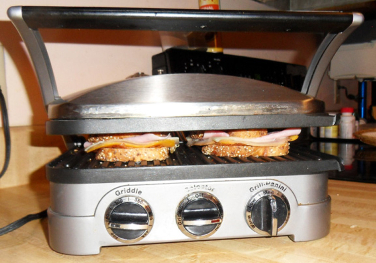 Panini Press- a Great way to Make a Sandwich