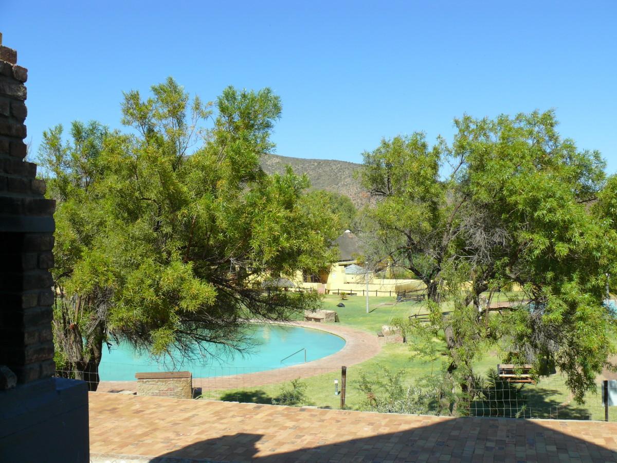 The fresh water pool