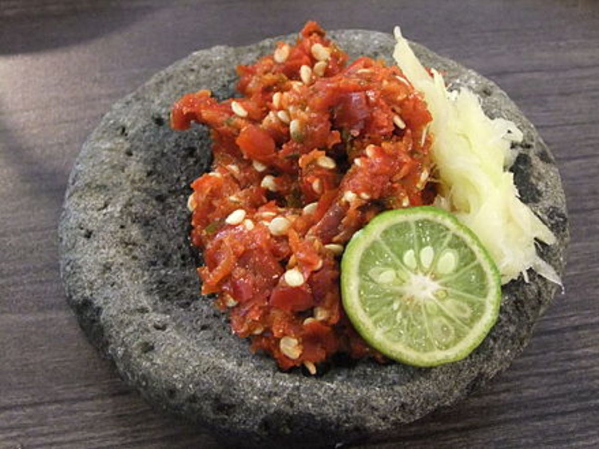 Sambal can elevate a boring dish to a whole new level.