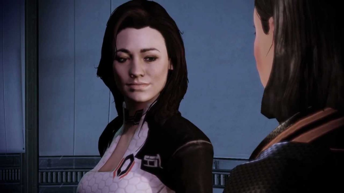 Shepard encourages Miranda to talk to her sister.