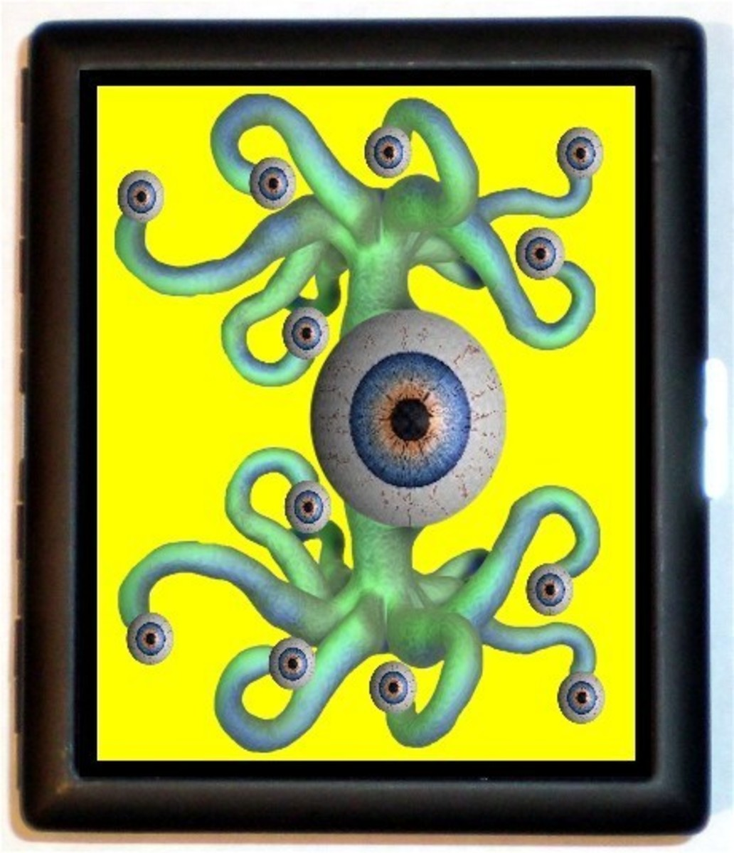 Why the octopus? Why the eyes? It just doesn't make sense.
