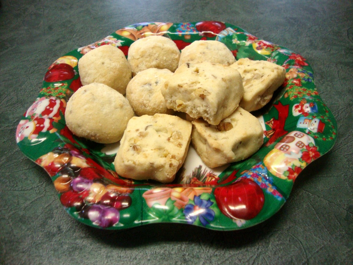 Photo: Walnut Shortbread Cookies