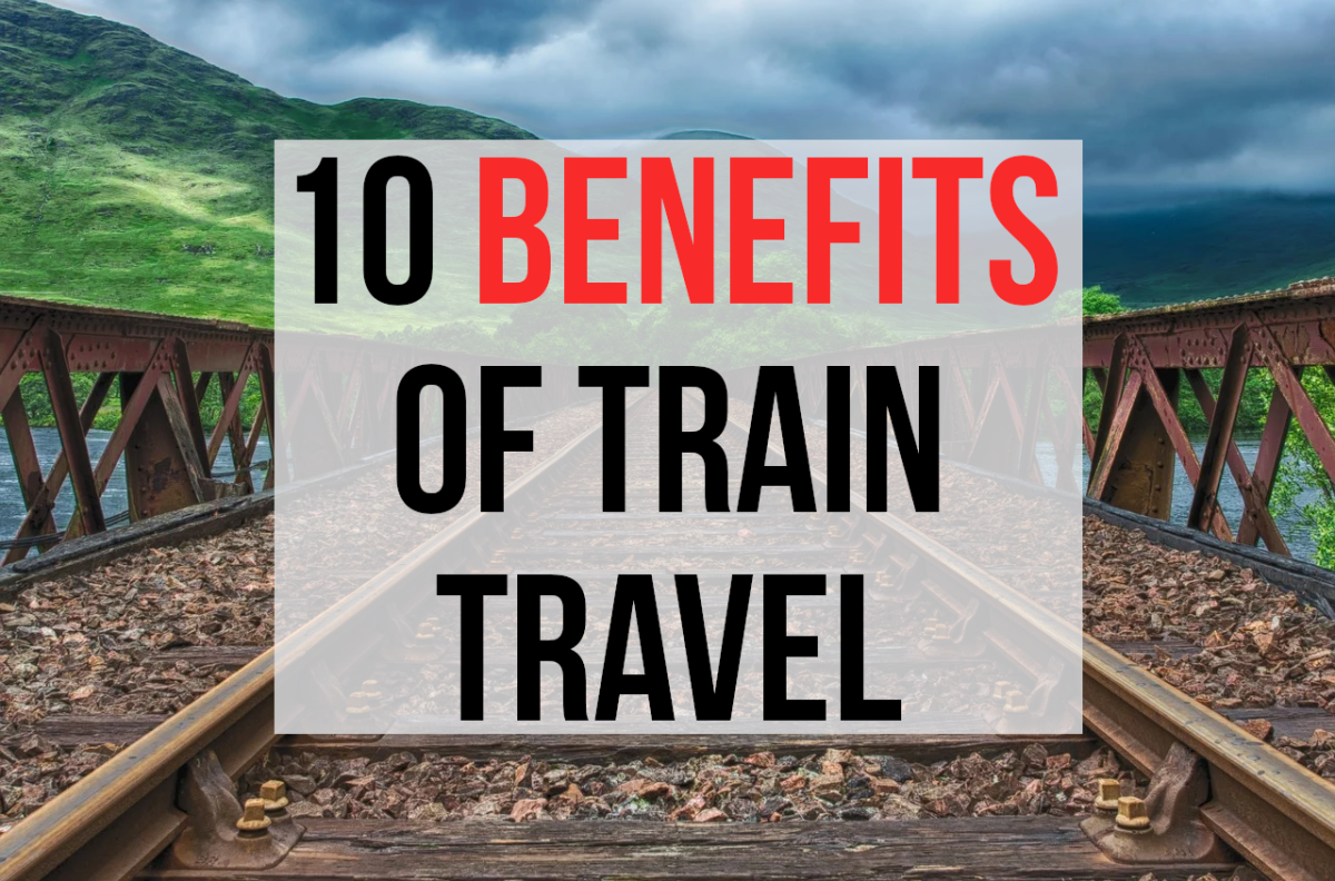 Read on for the ten main positives associated with travelling by train...