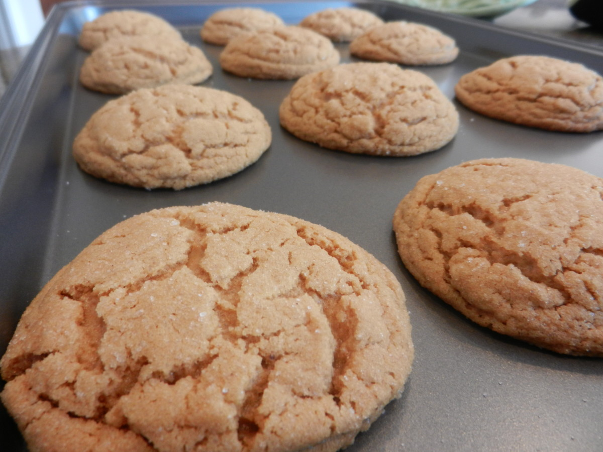 Fresh from the oven and still fluffy!