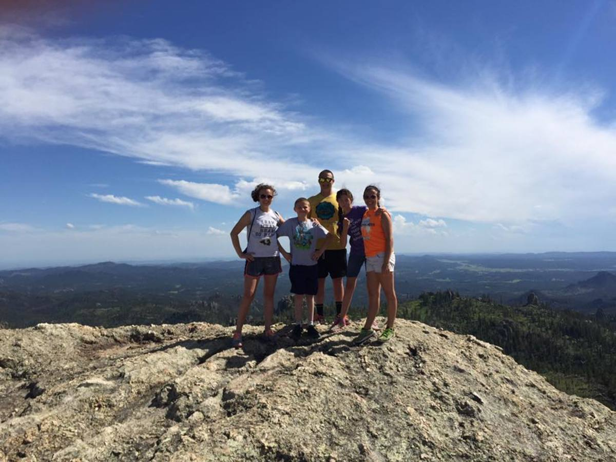 The Fab Five make it to the top of Little Devil's Tower