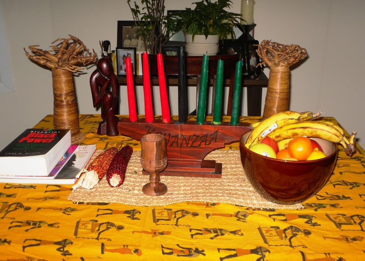 Kwanzaa Display