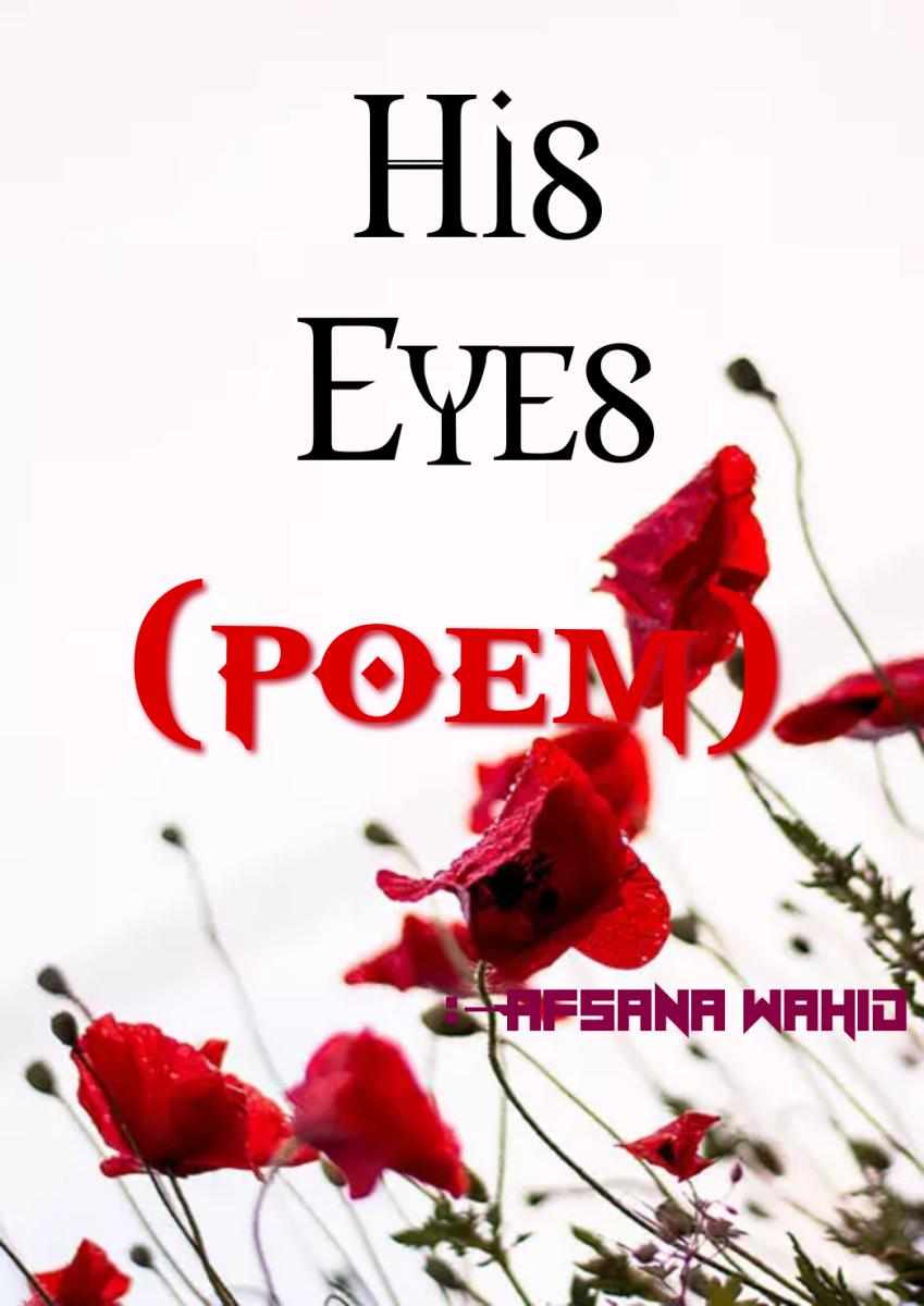 His Eye (Poem)