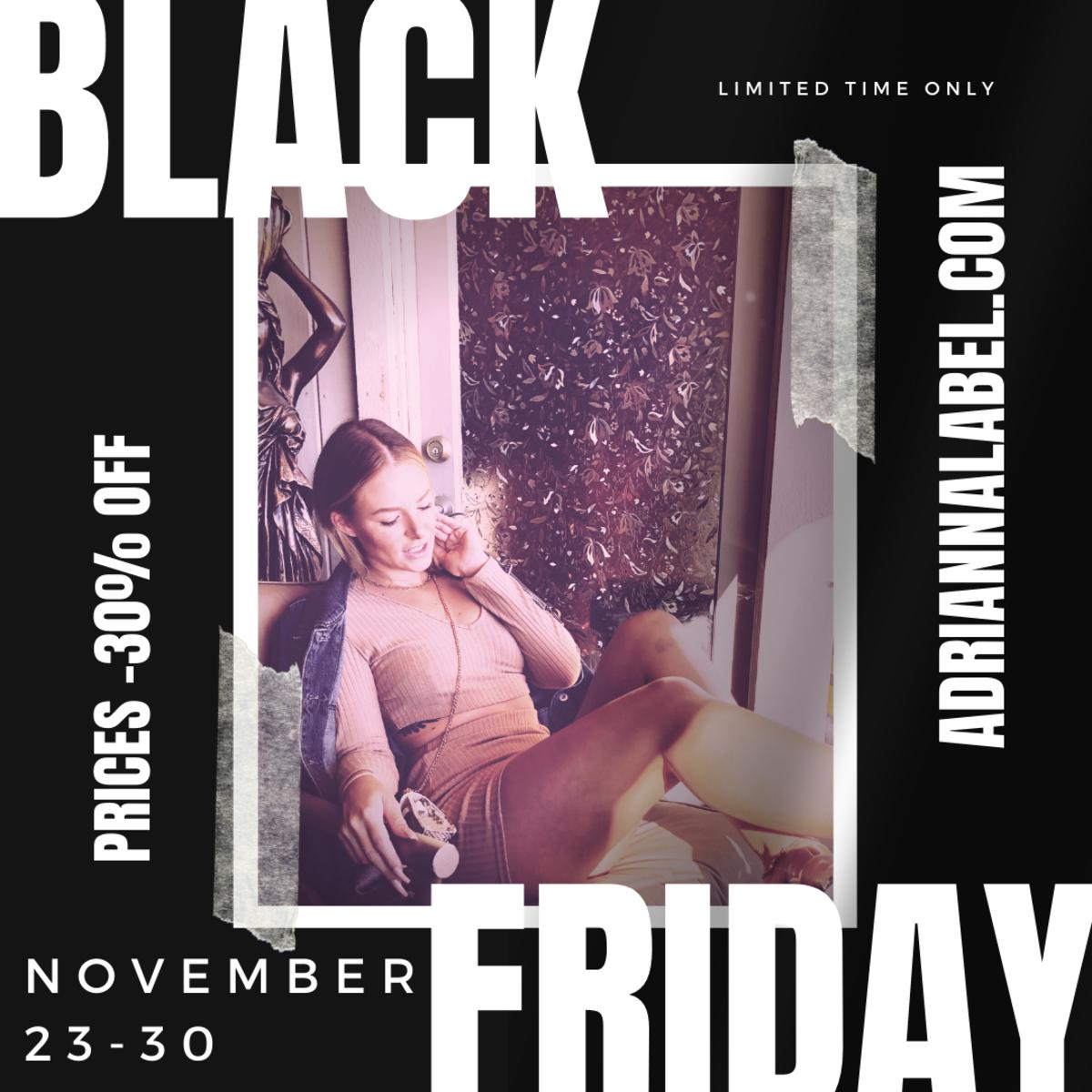 2020 Black Friday at ADRIANNA LABEL