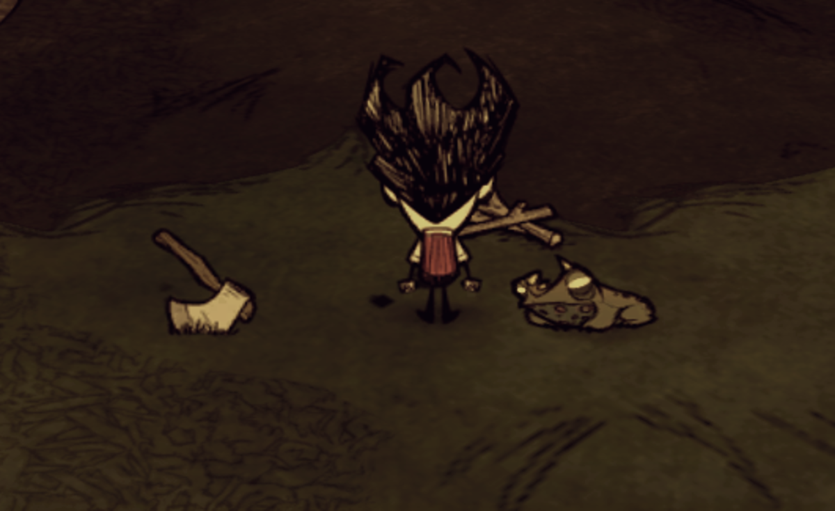 Don't Starve walkthrough: Frogs