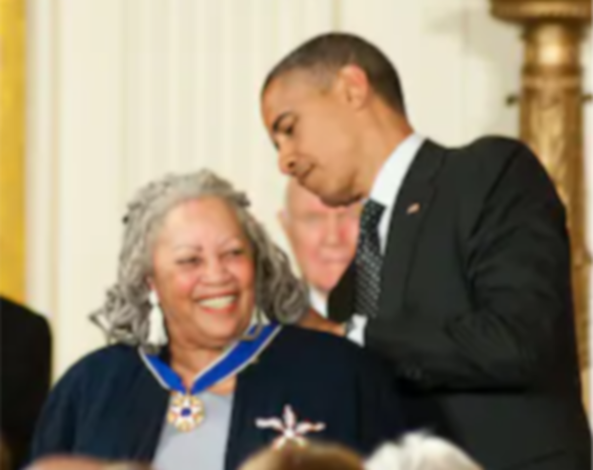 Morrison was named a 2012 recipient of the Presidential Medal of Freedom, the highest civilian award in the United States, by President Barack Obama.