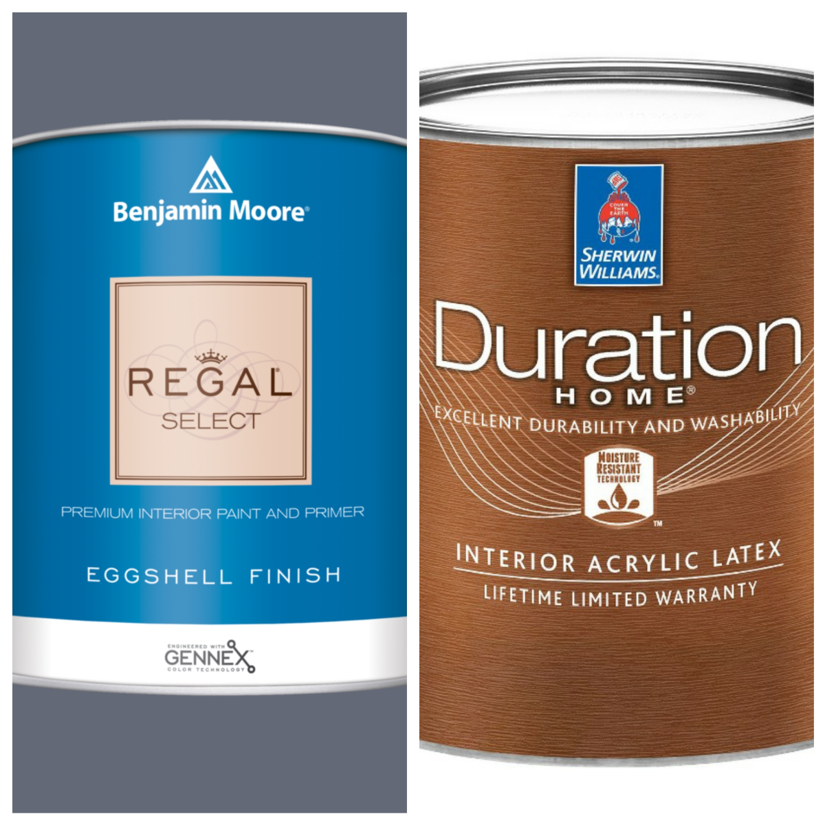 My top two interior paint picks.