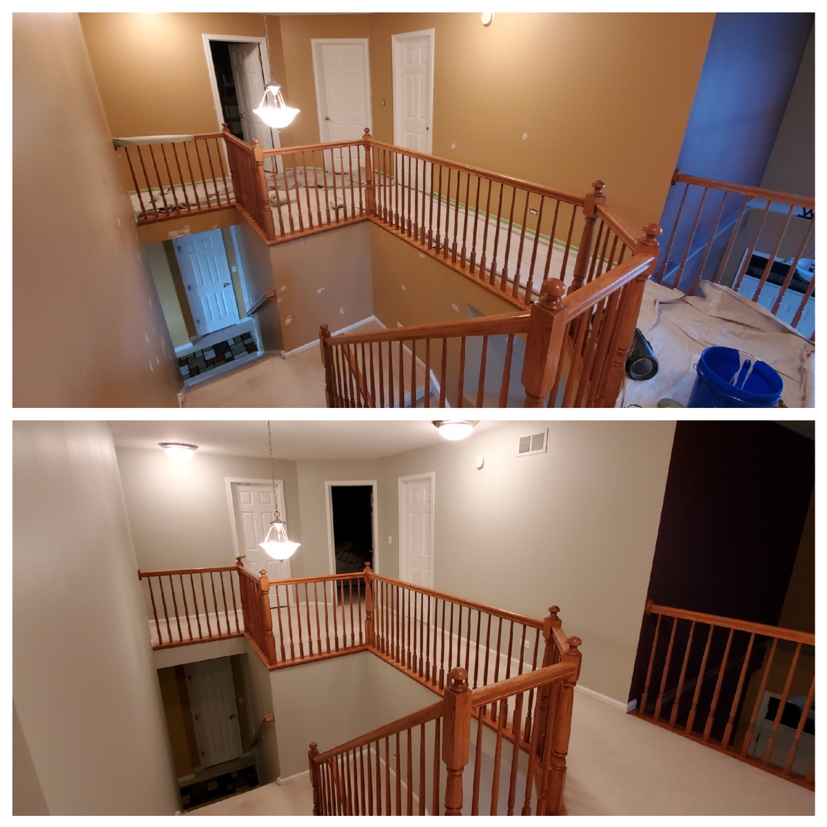 Walls I painted with Sherwin Williams paint.