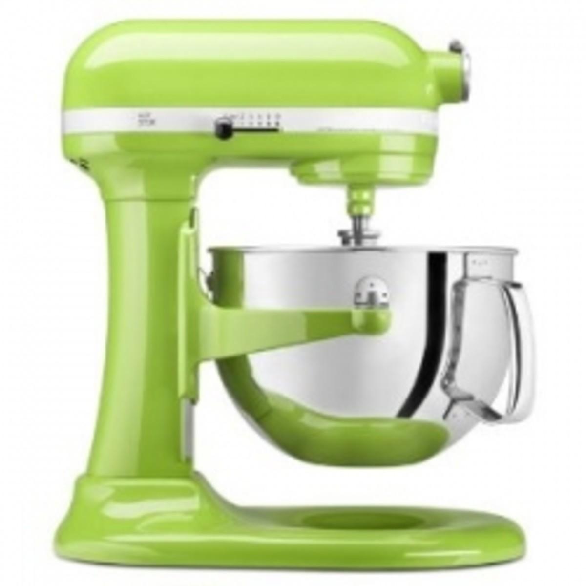 KitchenAid Pro 600 Series Stand Mixer in Green Apple