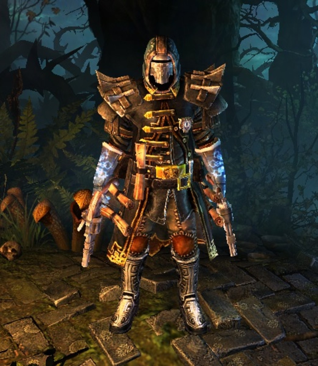 Grim Dawn: Gun Wielding Inquisitor Build Guides