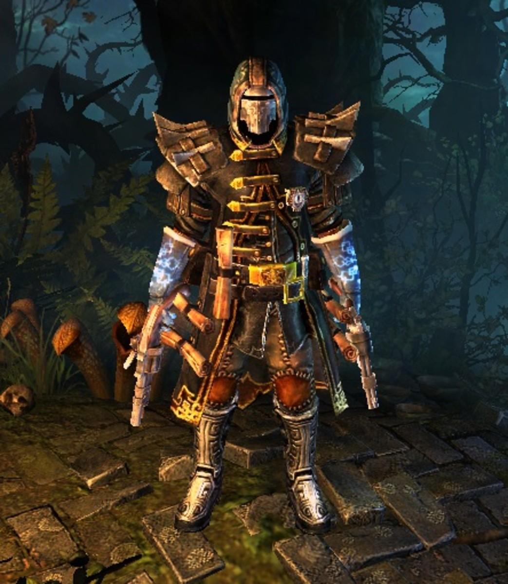 Dual Pistol Inquisitor, Copyright Crate Entertainment