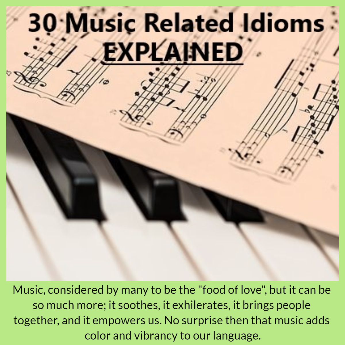 music-idioms-and-phrases