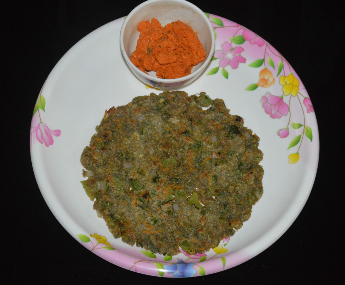 Bajra is also known as sajje or pearl millet. Use this grain to make a delicious roti.