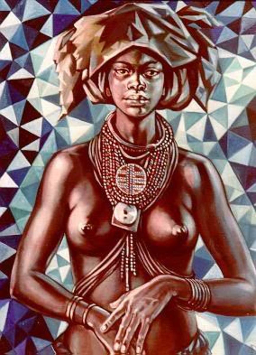 The Many Colors of the Goddess; Ala, an African goddess of Life and Death.