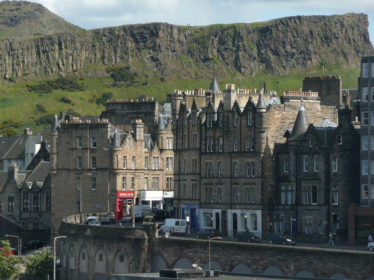 Part of Edinburgh Old Town