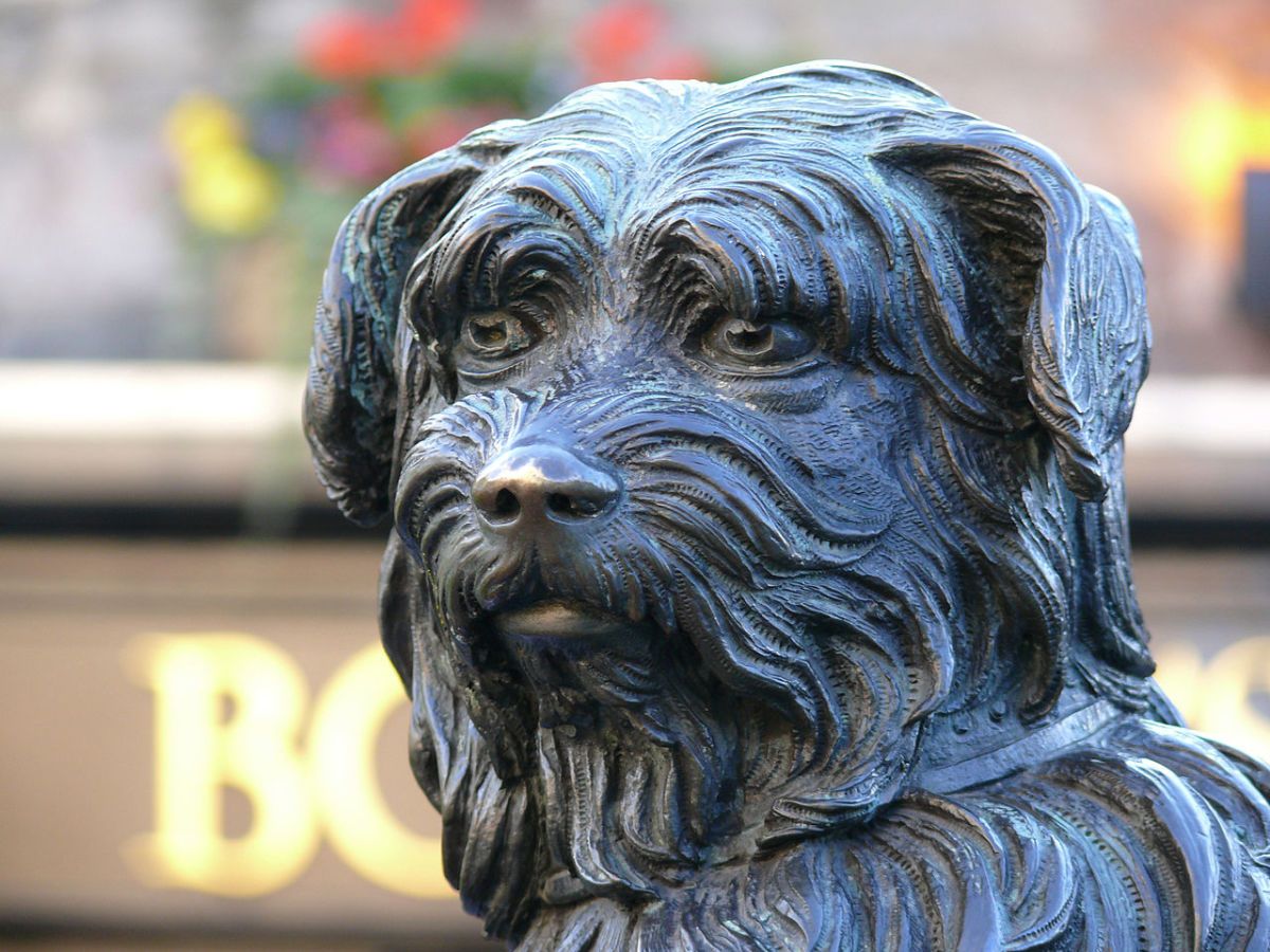 Visiting Scotand: Edinburgh's Greyfriars Bobby, the Dog a Community Loved