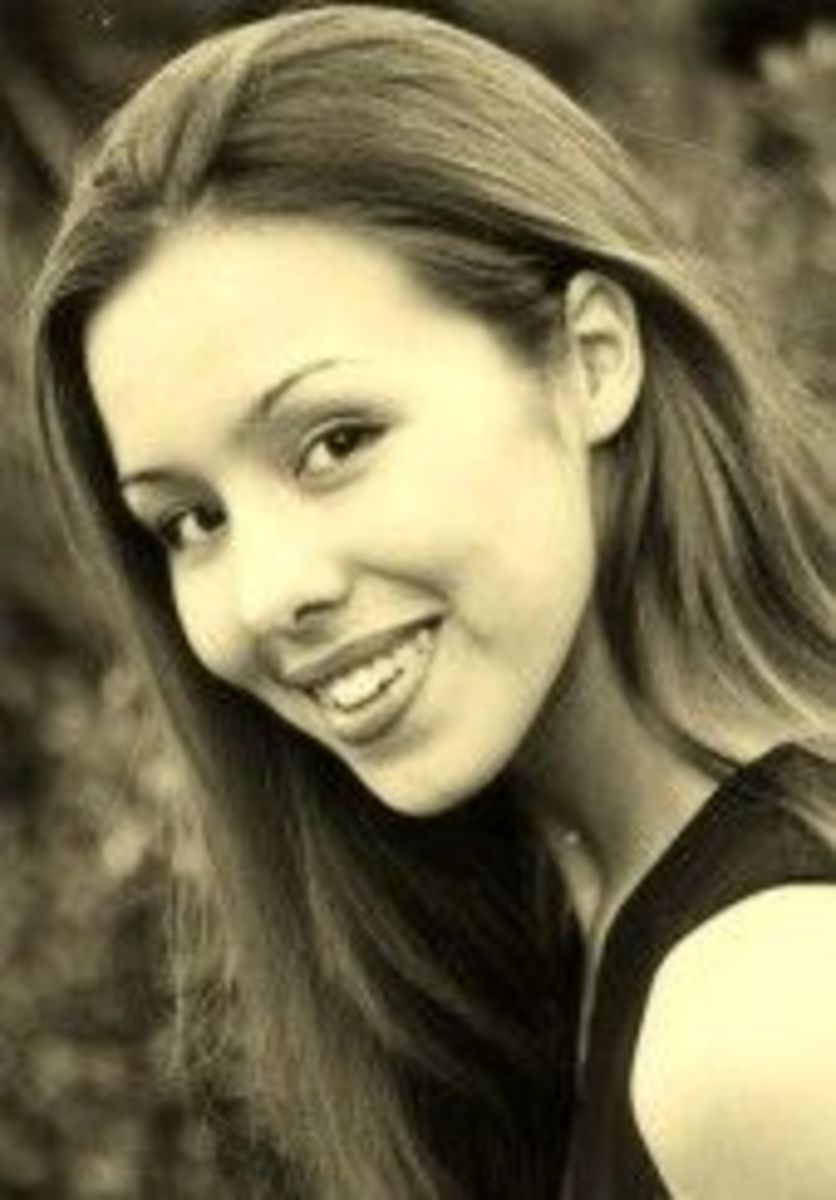 This is a picture of Jodi Arias found on her MySpace page.