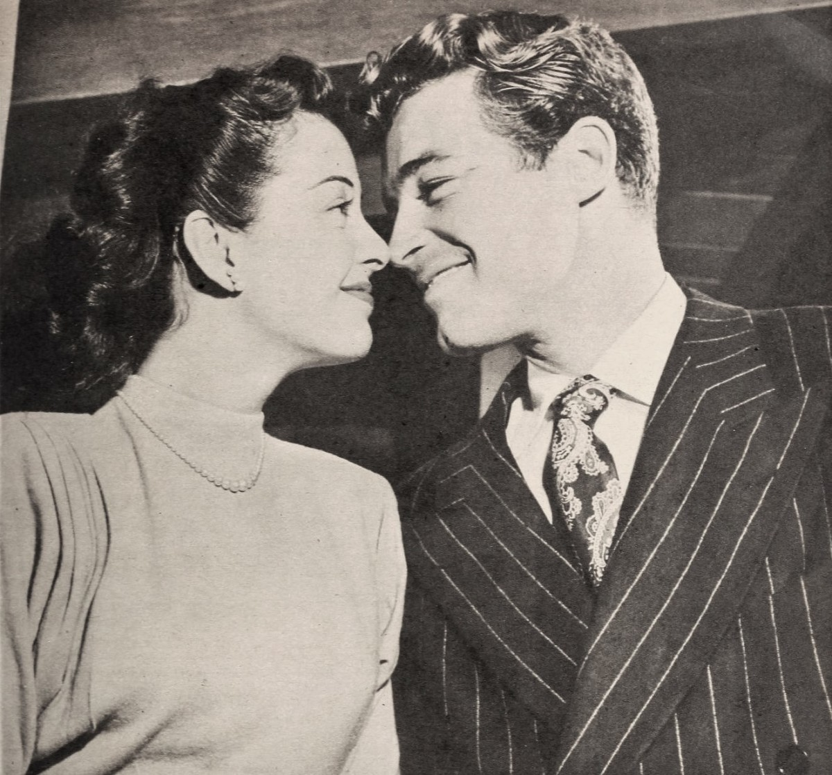 Gail Russell and Guy Madison, 1946.