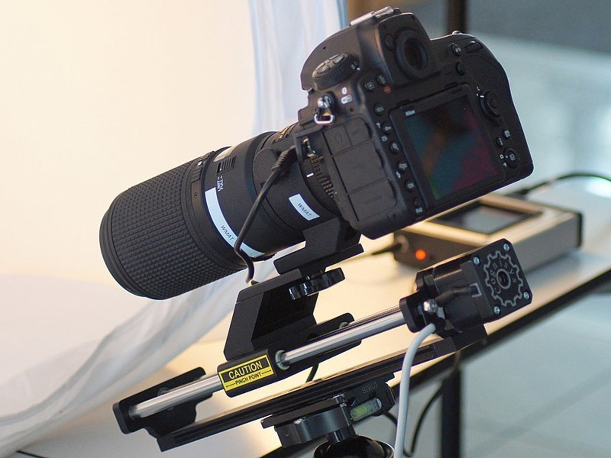 Focus stacking with Hardware, Nikon D850