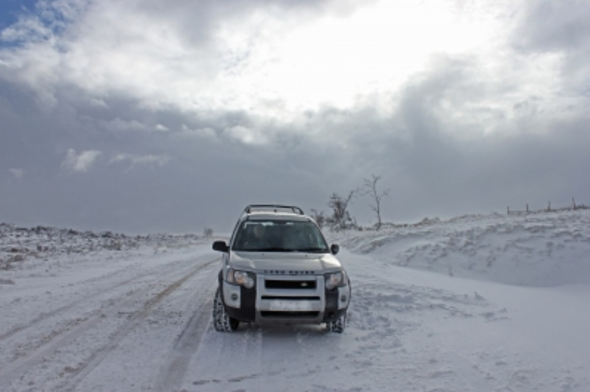 Winter driving presents many dangers. Always exercise caution when driving in snowy conditions.