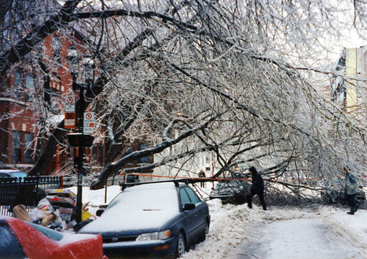 The Great Ice Storm of 1998. Have an emergency safety kit kept in an easily accessible place in your home, in the event you need to stay inside for a few days.