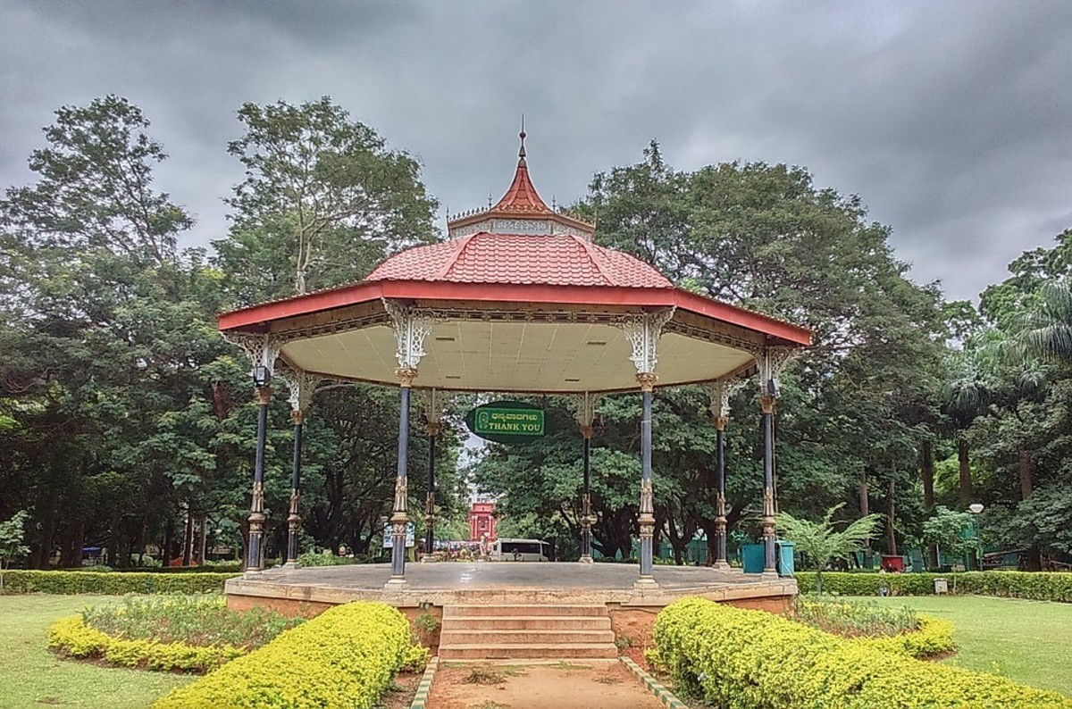 Bandstand in Cubbon Park