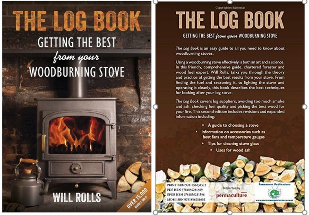 """""""The Log Book: Getting the Best From Your Woodburning Stove"""" by Will Rolls"""