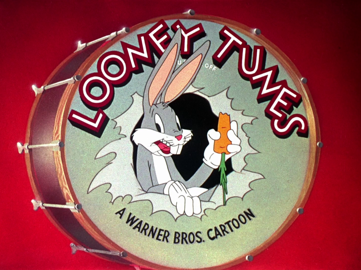 """Bugs Bunny, """"And that's the end"""" of cartoon"""