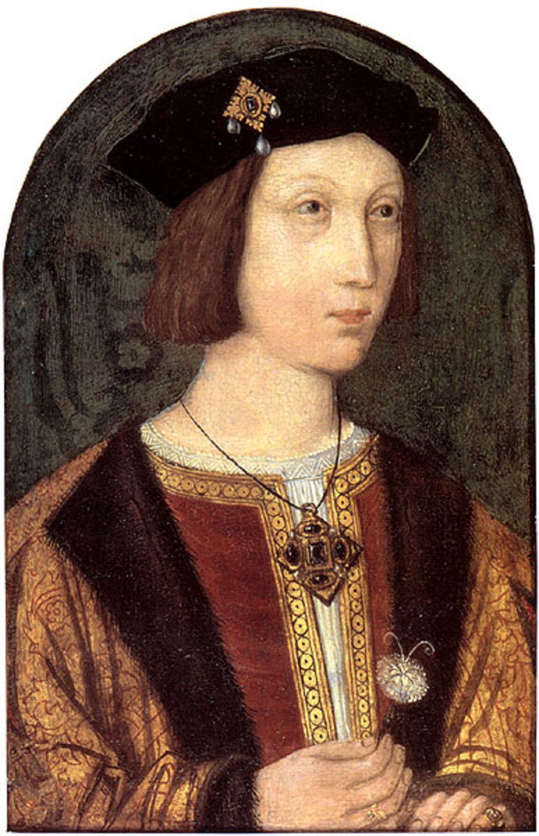 Prince Arthur, Katherine's first husband